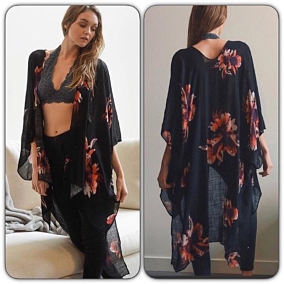 e795a9448b Swim | Boho Chic Kimono Wrap Coverup Os One Size | Poshmark